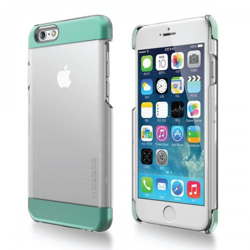 Made for Apple iPhone 6 PLUS/6S PLUS (5.5 inch) Case, INO Wing Series [Mint] Slim Clear Form-Fitting Hard Plastic Protective Case Cover by Redshield