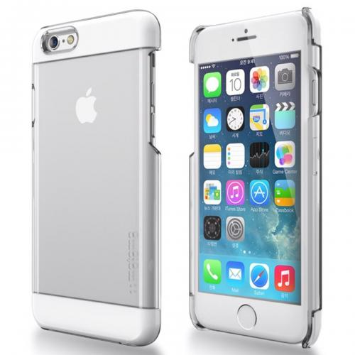 Made for Apple iPhone 6 PLUS/6S PLUS (5.5 inch) Case, INO Wing Series [White] Slim Clear Form-Fitting Hard Plastic Protective Case Cover by Redshield