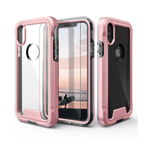 Apple IPhone X Case ION Triple Layered Shockproof Protection TPU PC Hybrid Cover W