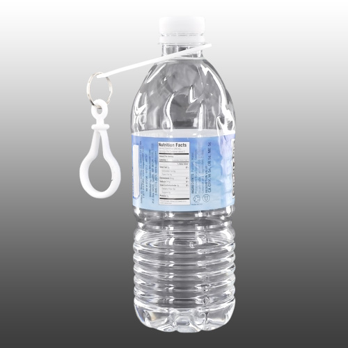 Water Bottle Holder - Great for Outdoor Activities, Hang it on Your Belt or Back Pack! [White]