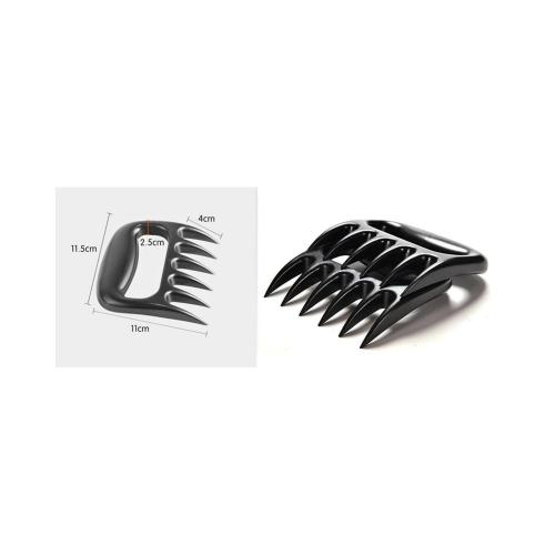 Bear Shredder Claws [2 Pieces] - Easily Lift, Handle, Shred, and Cut Meats - Essential for BBQ Pros - Ultra-Sharp Blades Made of Food Grade Material