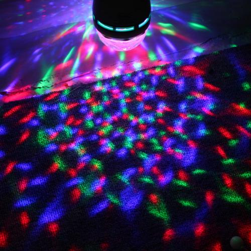 LED Colorful Rotating Disco Lamp Light - Bring the Party with you!