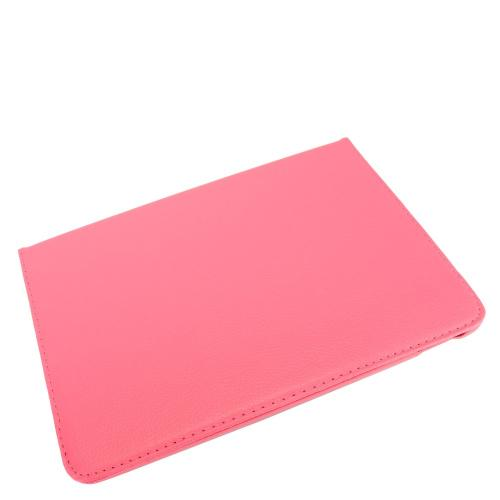 Apple iPad Pro 2 (10.5 inch) Leather Case, [Pink] Slim Protective PU Leather Tablet Hard Case w/ Stand and Rotatable Shield
