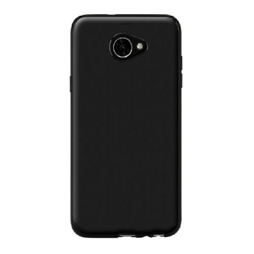 Alcatel A30 TPU Case, [REDshield] Slim & Flexible Anti-shock Crystal Silicone Protective TPU Gel Skin Case Cover [Black] with Travel Wallet Phone Stand