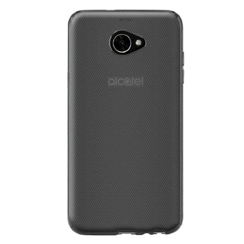 Alcatel A30 TPU Case, [REDshield] Slim & Flexible Anti-shock Crystal Silicone Protective TPU Gel Skin Case Cover [Clear] with Travel Wallet Phone Stand