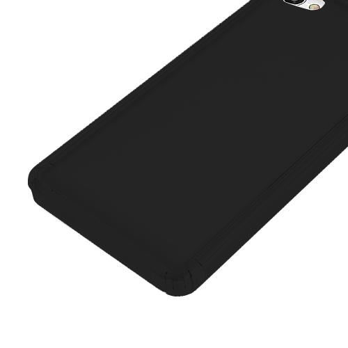 [REDshield] Alcatel Crave/ PulseMix/ A50 TPU Case, Slim & Flexible Anti-shock Crystal Silicone Protective TPU Gel Skin Case [Black]