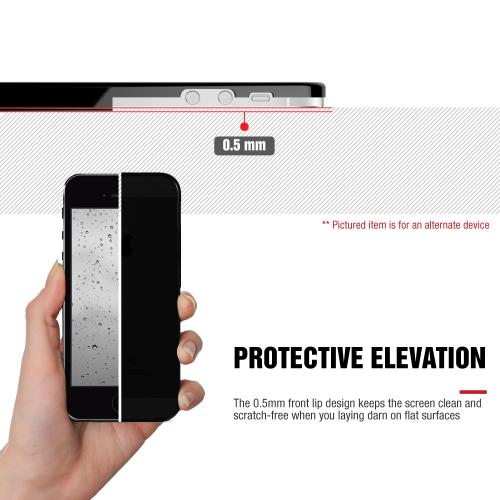Alcatel OneTouch Elevate Case, [Clear] Slim & Flexible Crystal Silicone TPU Protective Case