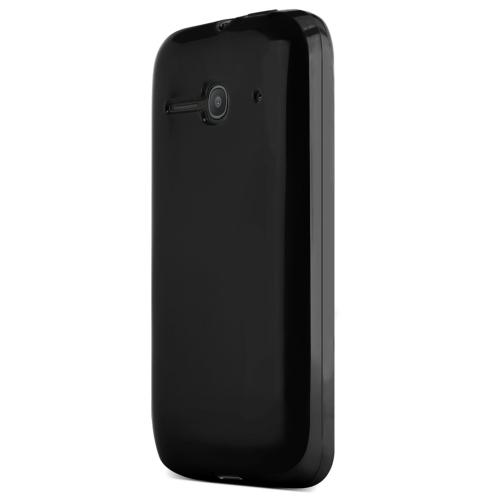 One Touch Evolve 2 Case, [Black ] Slim & Flexible Crystal Silicone TPU Skin Cover for Alcatel One Touch Evolve 2