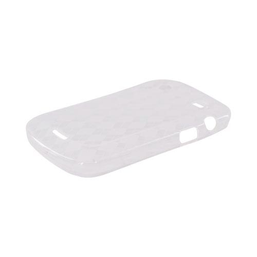Blackberry Bold 9900, 9930 Crystal Silicone Case - Clear Argyle