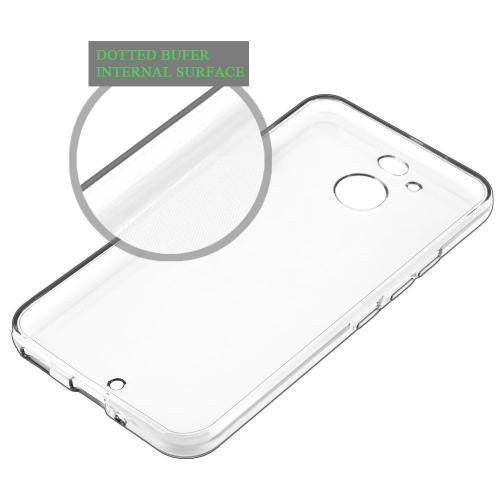 HTC Bolt Case, [Clear] Slim & Flexible Anti-shock Crystal Silicone Protective TPU Case