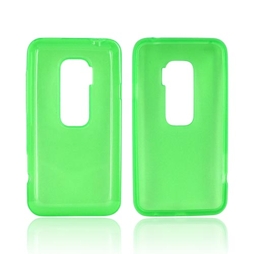 HTC EVO 3D Crystal Silicone Case - Green