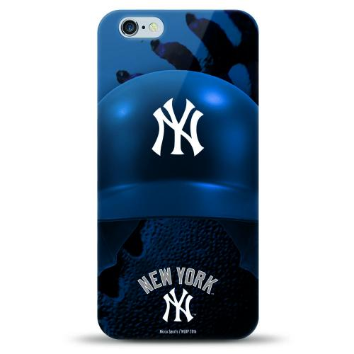 Made for Apple iPhone 8 Plus / 7 Plus / 6S Plus / 6 Plus Case, Helmet Series MLB Licensed [New York Yankees] Slim & Flexible Anti-shock Crystal Silicone Protective TPU Gel Skin Case Cover by MLB