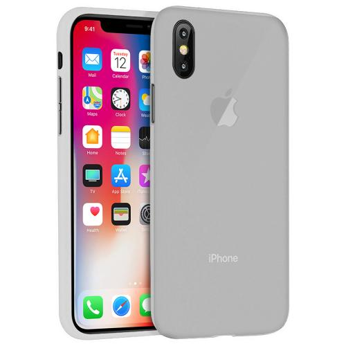 [REDshield] Apple iPhone X TPU Case, Slim & Flexible Anti-shock Crystal Silicone Protective TPU Gel Skin Case [Clear]