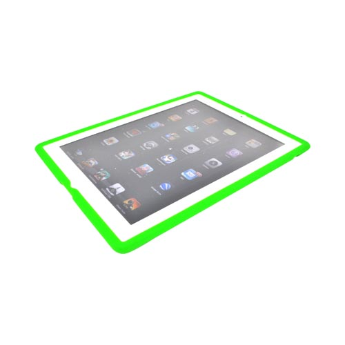 Made for Apple iPad 2, New iPad Silicone Case - Green by Redshield