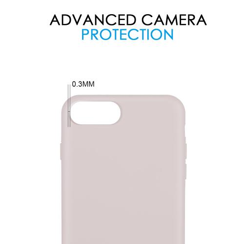 Made for [Apple iPhone 6/7/8] [Simple Series] TPU Case, Slim Flexible Anti-shock Crystal Silicone Protective TPU Gel Skin Case [SIMPLE PINK] by Redshield