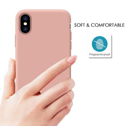 Made for [Apple iPhone X / XS 2018] TPU Case, Slim Flexible Anti-shock Crystal Silicone Protective TPU Gel Skin Case [PINK] by Redshield