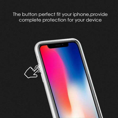 Made for [Apple iPhone X / XS 2018] TPU Case, Slim Flexible Anti-shock Crystal Silicone Protective TPU Gel Skin Case [WHITE] by Redshield