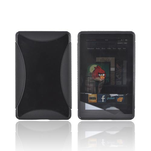 Amazon Kindle Fire Crystal Silicone Case - Black