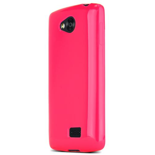 Lg Transpyre Tpu Case [hot Pink / Frost] Protective Bumper Case W/ Flexible Crystal Silicone Tpu Impact Resistant Material