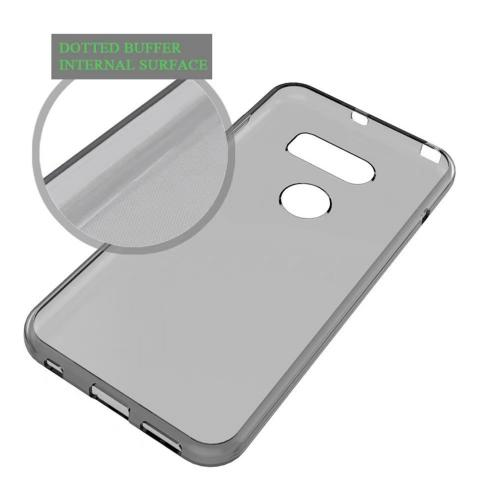 LG V30 TPU Case, [Frost White] Slim & Flexible Anti-shock Crystal Silicone Protective TPU Gel Skin Case