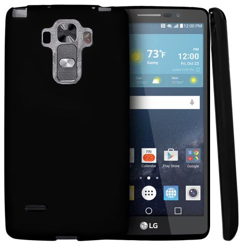 LG G Vista 2 Case, [Black] Slim & Flexible Crystal Silicone TPU Protective Case