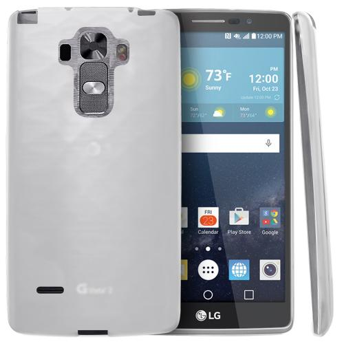 LG G Vista 2 Case, [Clear] Slim & Flexible Crystal Silicone TPU Protective Case