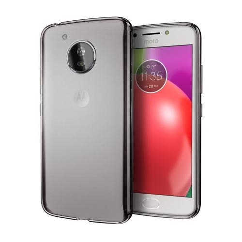 [REDshield] Motorola Moto E4 PLUS Case, [Frost Clear] Slim & Flexible Anti-shock Crystal Silicone Protective TPU Gel Skin Case Cover