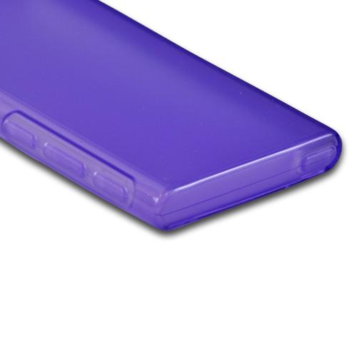 Apple iPod Nano 7 Crystal Silicone Case - Purple
