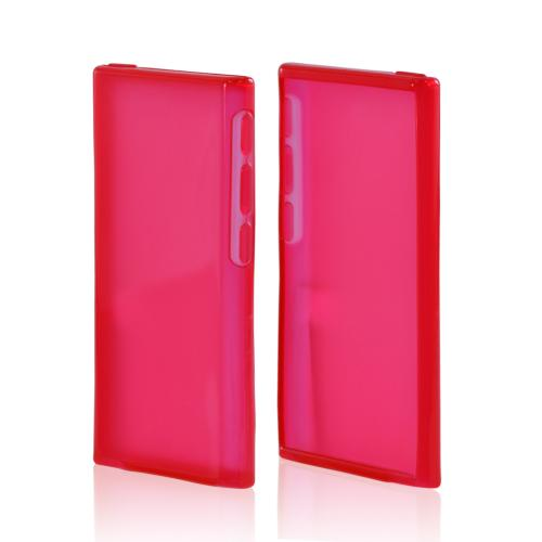Apple iPod Nano 7 Crystal Silicone Case - Red