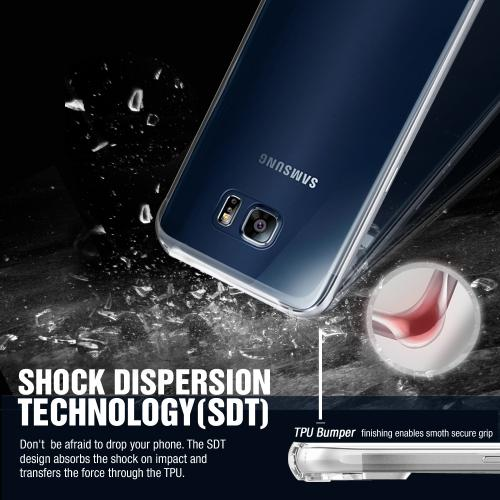 Samsung Galaxy J3 Case, [Clear] Slim & Flexible Anti-shock Crystal Silicone Protective TPU Gel Skin Case Cover