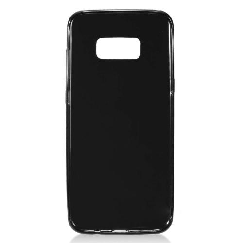 Samsung Galaxy S8 TPU Case, [REDshield] Slim & Flexible Anti-shock Crystal Silicone Protective TPU Gel Skin Case Cover [Black] with Travel Wallet Phone Stand