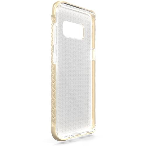 Scottii [Samsung Galaxy S8 Plus] TPU Case in Removeable GOLD Border and Gold Back