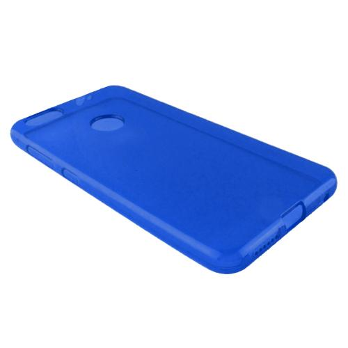 [REDshield] ZTE Blade X TPU Case, [Blue] Slim & Flexible Anti-shock Crystal Silicone Protective TPU Gel Skin Case Cover