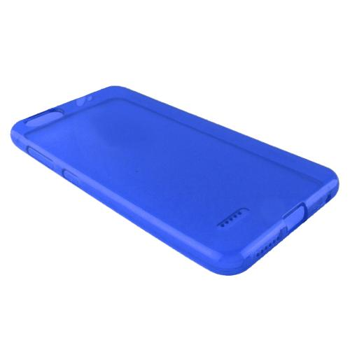 [REDshield] ZTE Blade Force TPU Case, [Blue] Slim & Flexible Anti-shock Crystal Silicone Protective TPU Gel Skin Case Cover