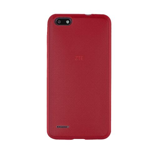 [REDshield] ZTE Blade Force TPU Case, [Red] Slim & Flexible Anti-shock Crystal Silicone Protective TPU Gel Skin Case Cover