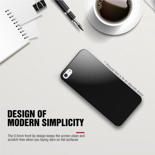 ZTE Overture 2 Case, BLACK Slim & Flexible Anti-shock Crystal Silicone TPU Skin Protective Case