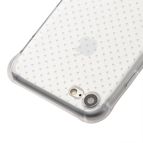 Made for Apple iPhone 8/7/6S/6 Case, [Clear] Durable Anti-shock Crystal Silicone Protective TPU Gel Skin Case Cover with Travel Wallet Phone Stand by Redshield