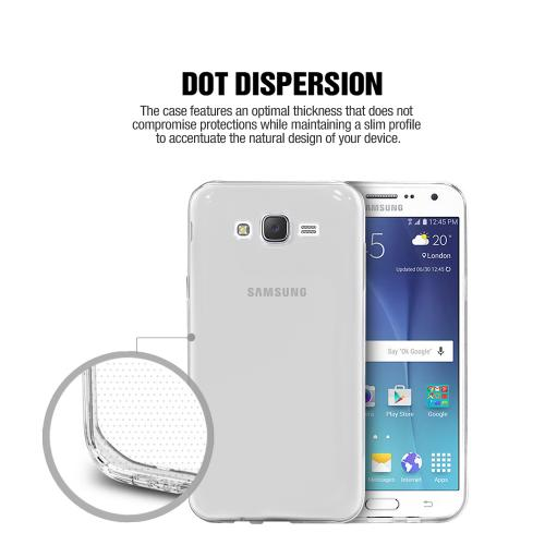 Samsung Galaxy S7 Case, [Clear] Ultra Thin Slim & Flexible Anti-shock Crystal Silicone Protective TPU Gel Skin Case Cover