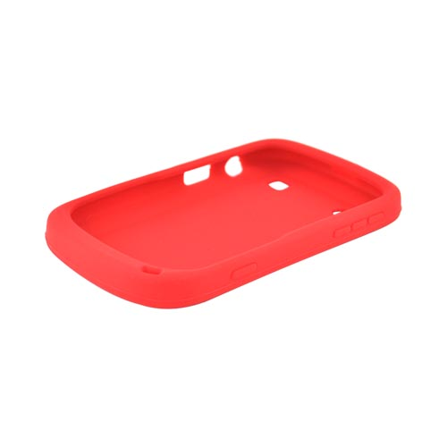 Blackberry Bold 9900, 9930 Silicone Case - Red