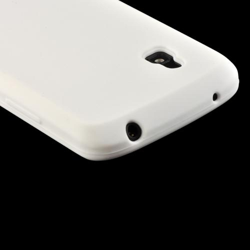 White Silicone Case for LG Nexus 4