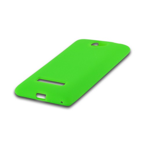 Neon Green Silicone Case for HTC 8S