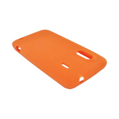 HTC EVO Design 4G Silicone Case - Orange