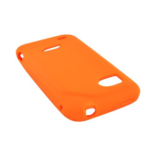 HTC Rezound Silicone Case - Orange