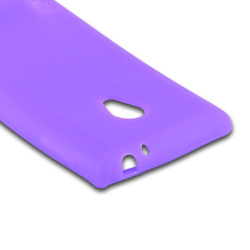 Purple Silicone Case for LG Lucid 2