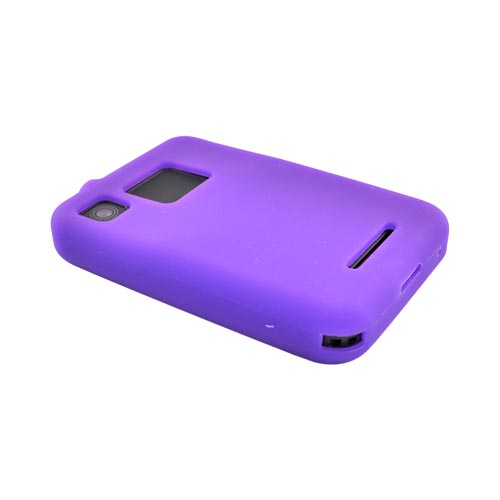 Motorola Charm MB502 Silicone Case - Purple