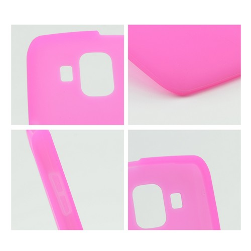 Hot Pink Silicone Case for Pantech Perception