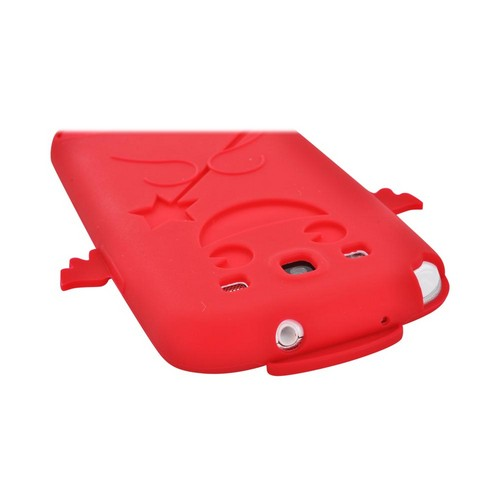 Samsung Galaxy S3 Silicone Case - Red Angel w/ Wings