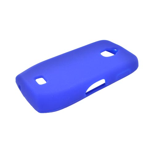 Samsung Exhibit T759 Silicone Case - Blue