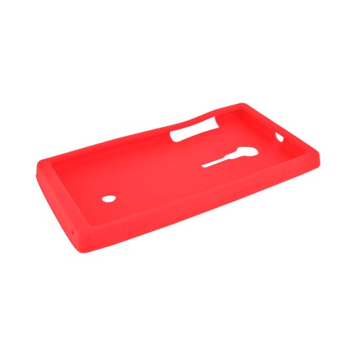 Sony Xperia Ion T28i Silicone Case - Red
