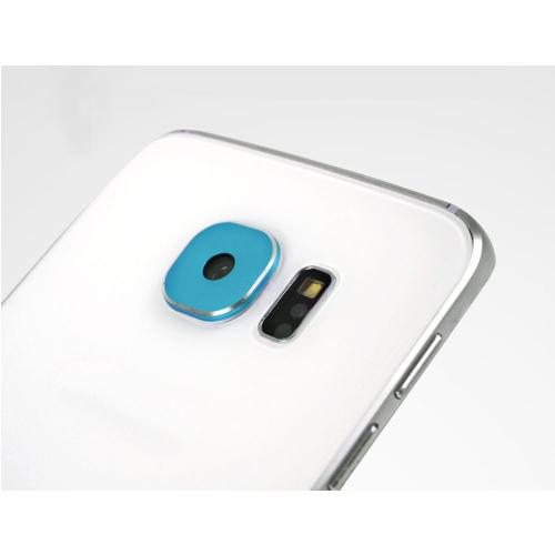 Unique Metal Camera Lens Cover For Samsung Galaxy S6 /Smasung Galaxy S6 Edge [Turquoise]